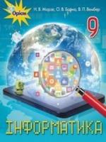 Інформатика 9 клас (Мороз Н.В., Барна О.В., Вембер В.П.) [2017]